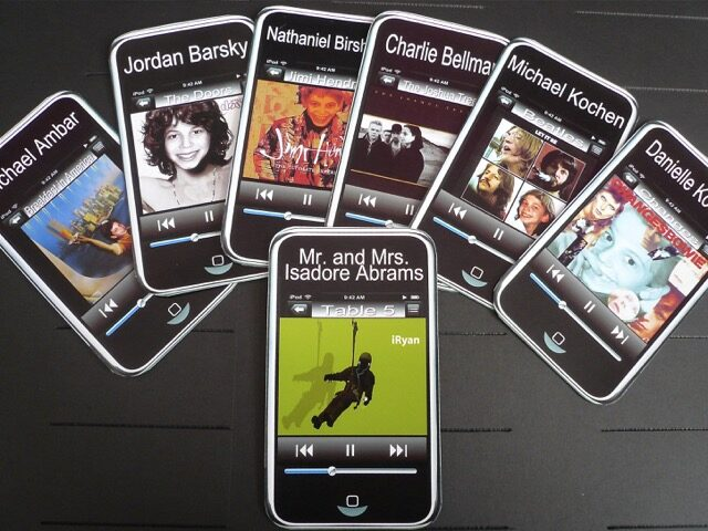 iphone placecards