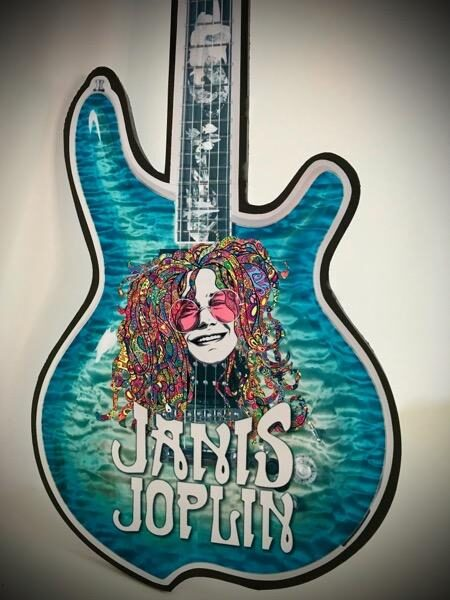 logo guitar with name and photo