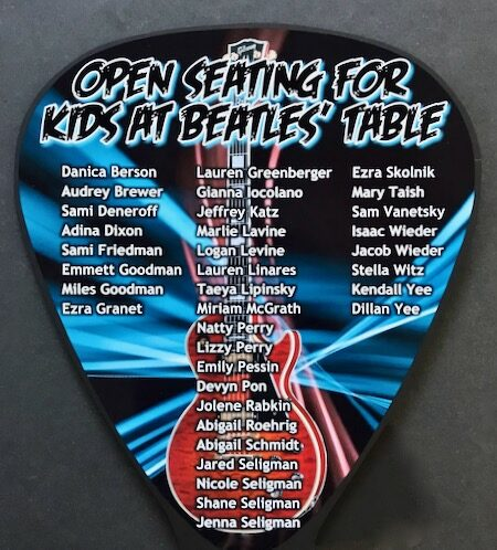 kids pick place cards